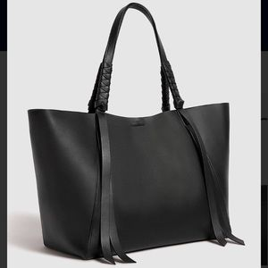 fecd72c2078f All Saints Bags - Large All Saints Black Voltaire East West Tote Bag